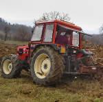 La nostra azienda: trattore